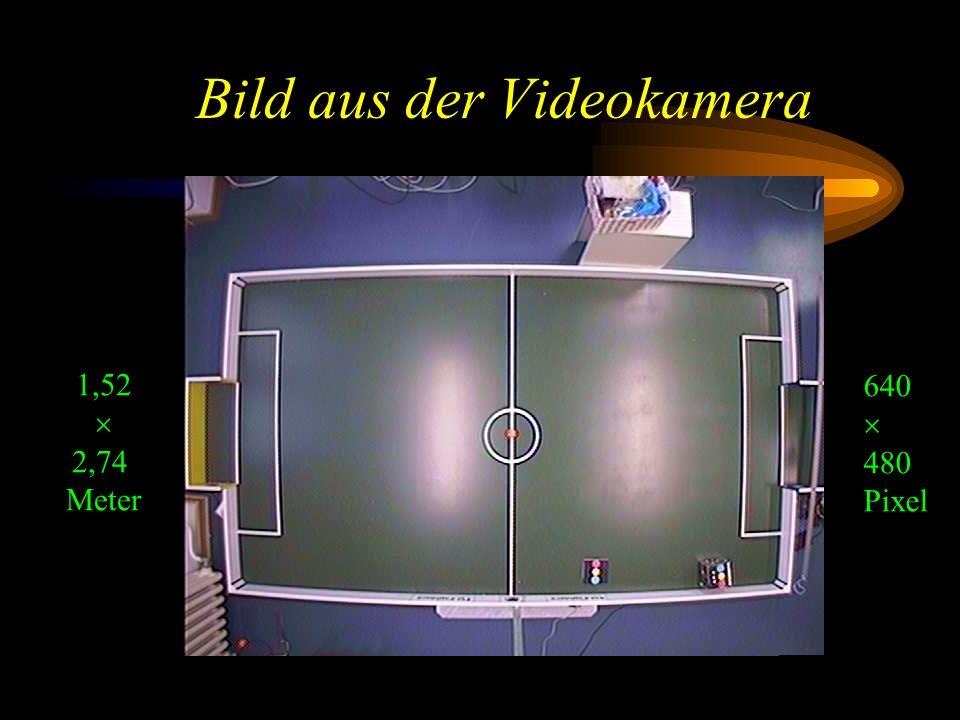 Bild aus der Videokamera 1,52 2,74 Meter 640 480 Pixel