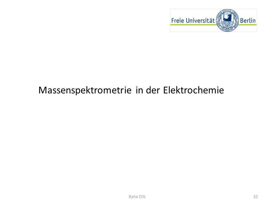 10Baha Dib Massenspektrometrie in der Elektrochemie
