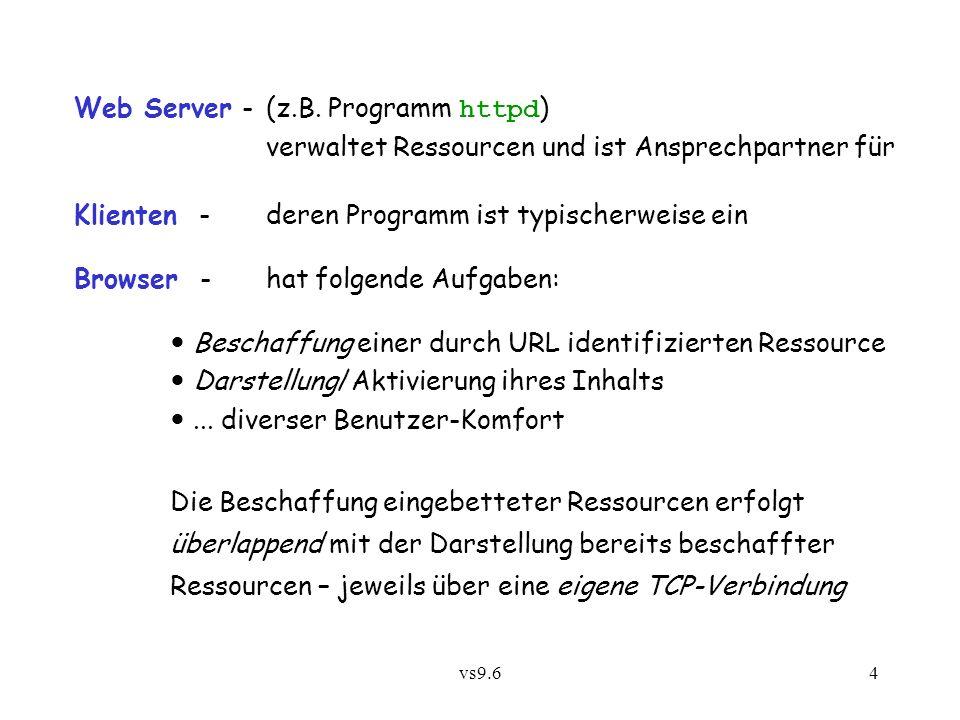 vs9.64 Web Server -(z.B.
