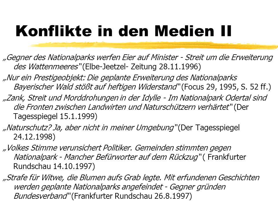 Widerstreit der Kulturen z Dominanz ökologischer Prinzipien (ecology-first) vs.