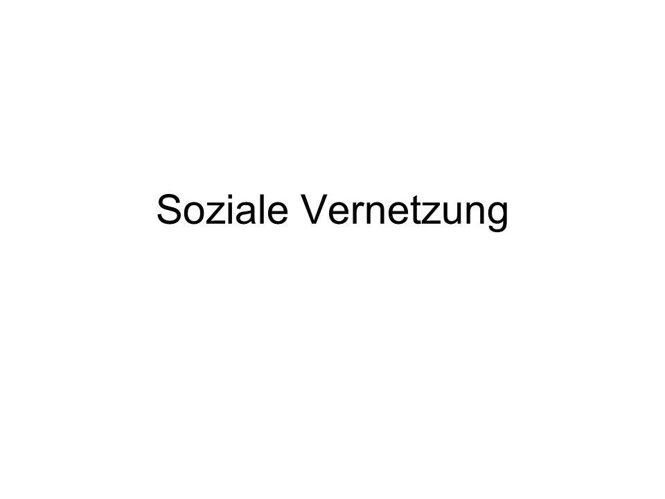 Soziale Vernetzung