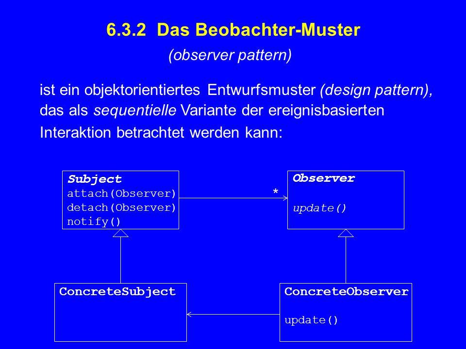 s:ConcreteSubject x:ConcreteObserver y:ConcreteObserver s.attach(this);