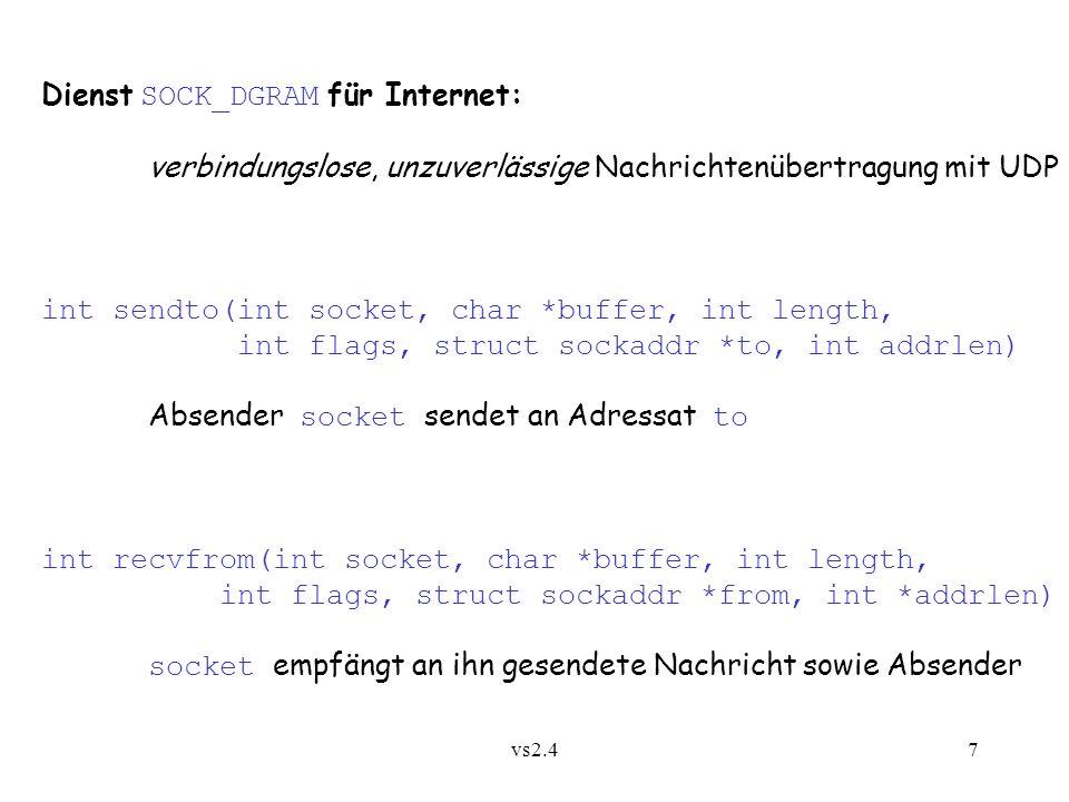 vs2.418 2.5 Kommunikationsplattformen - in C, Fortran,...
