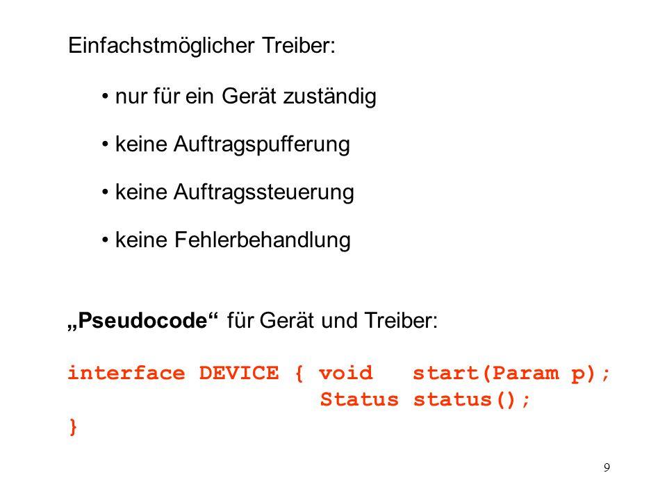 20 public void IOcomplete(){ // interrupt handler // entered with // processor priority = priority .