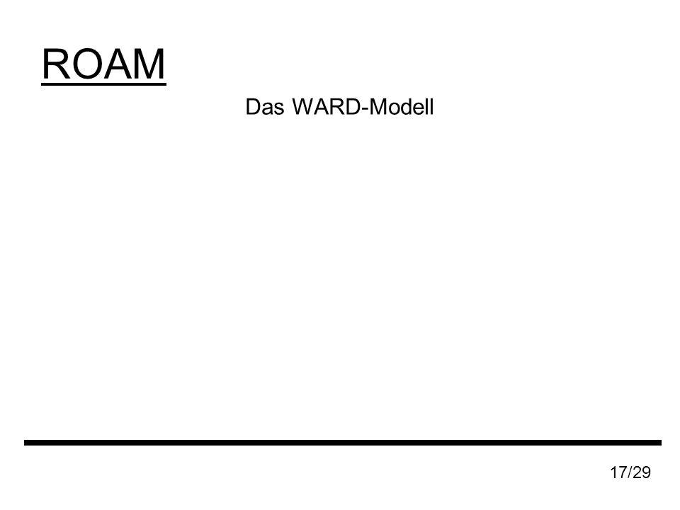 ROAM 17/29 Das WARD-Modell