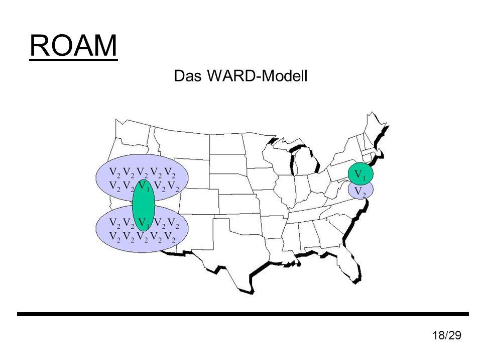 ROAM 18/29 Das WARD-Modell