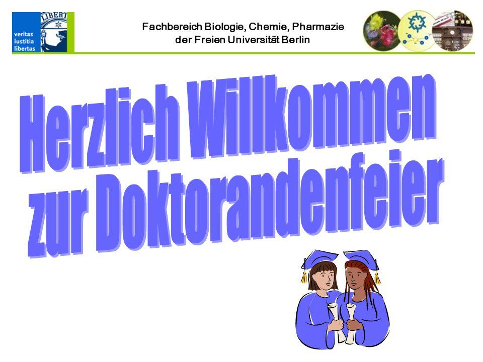 Fachbereich Biologie, Chemie, Pharmazie der Freien Universität Berlin