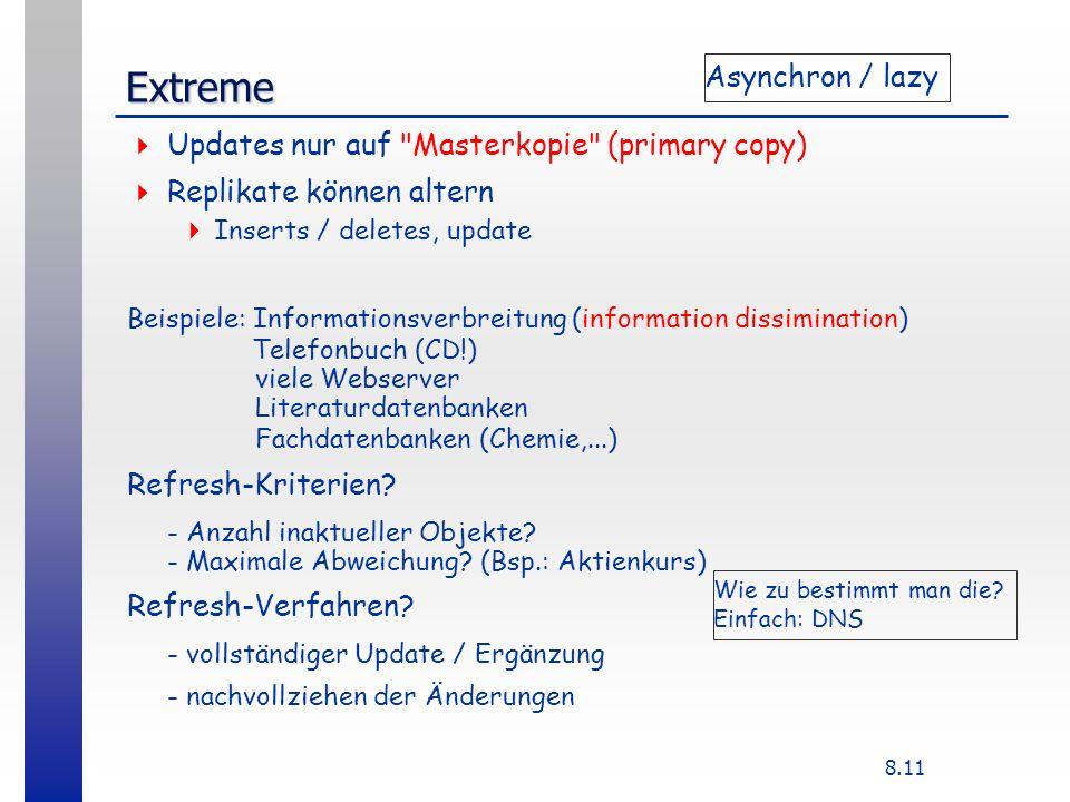 8.11 Extreme Updates nur auf