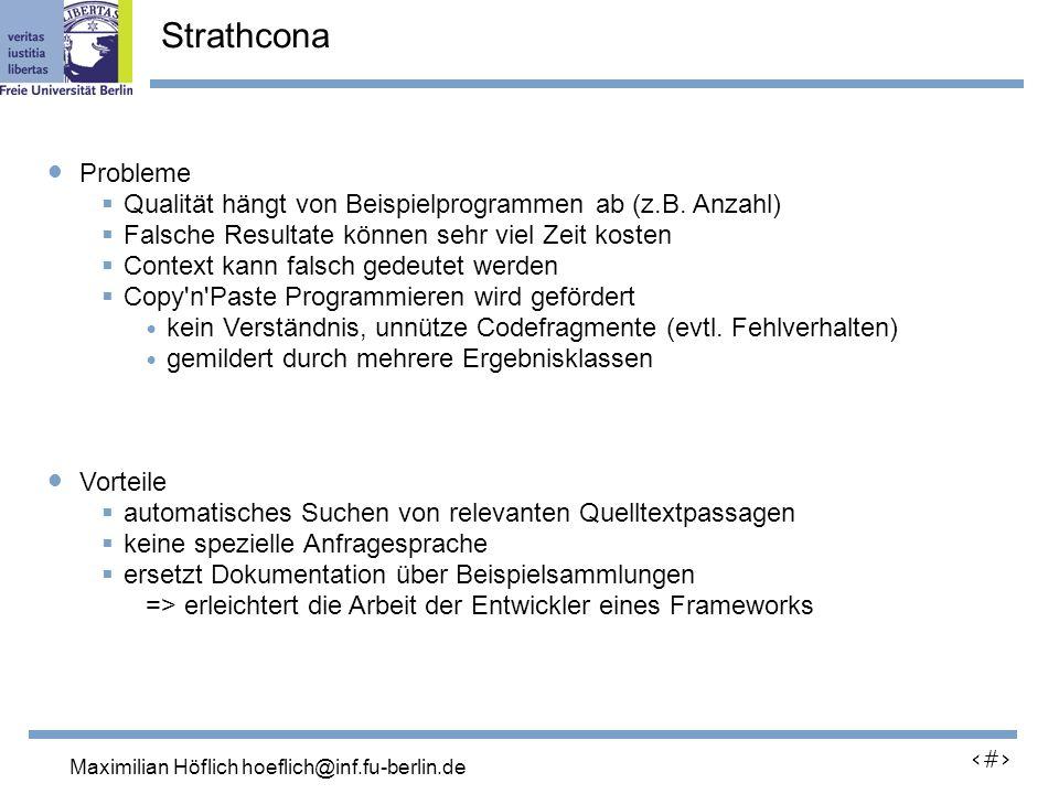 Lutz Prechelt, prechelt@inf.fu-berlin.de 24 Probleme Qualität hängt von Beispielprogrammen ab (z.B.