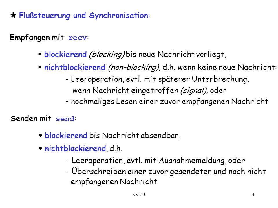 vs2.35 Synchrone vs.