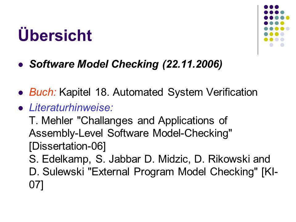 Übersicht Handlungsplanung (29.11.2007) Buch: Kapitel 17.