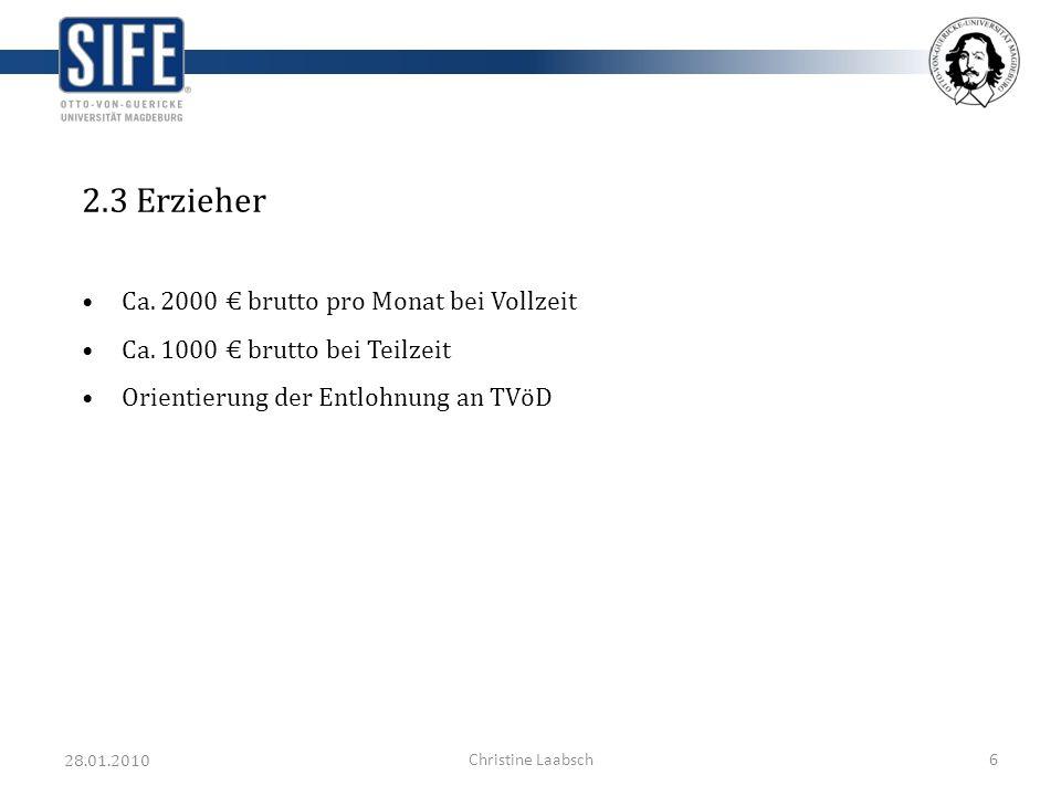 28.01.2010 Christine Laabsch7 3.