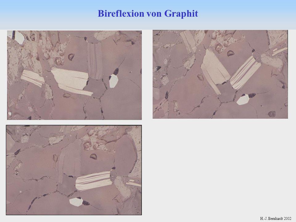 H.-J. Bernhardt 2002 Bireflexion von Graphit