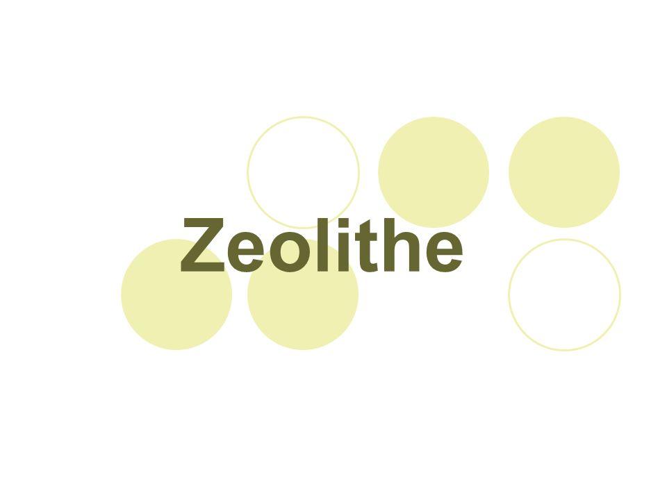 Natürliches Vorkommen Zeolithe kommen häufig in vulkanischen Gebieten vor gut ausgebildete Kristalle füllen Hohlräume od.