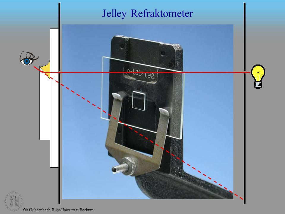 Olaf Medenbach, Ruhr-Universität Bochum Jelley Refraktometer