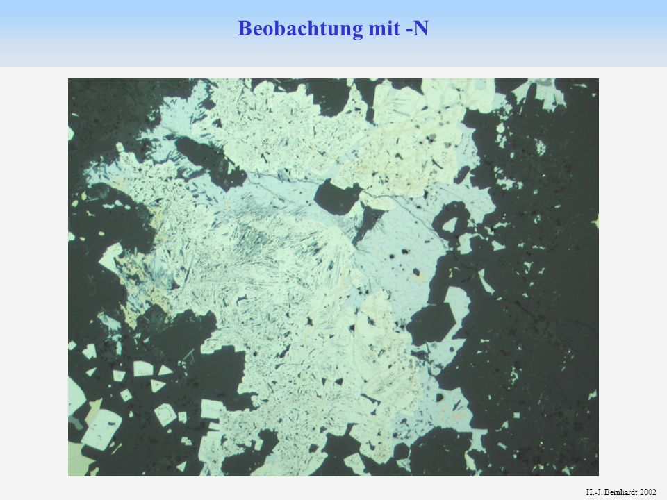 H.-J. Bernhardt 2002 Beobachtung mit -N