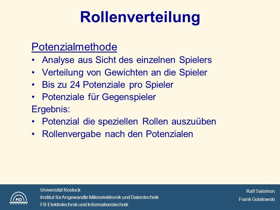 Ralf Salomon Frank Golatowski Universität Rostock Institut für Angewandte Mikroelektronik und Datentechnik FB Elektrotechnik und Informationstechnik Arbeitsplan (aus Antrag)