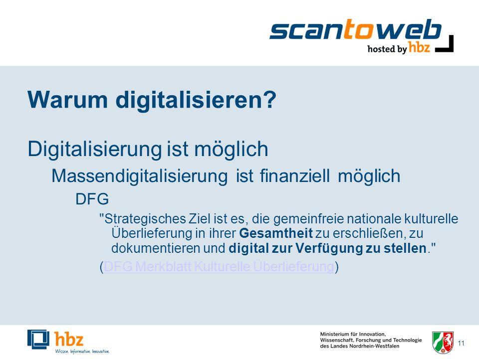 11 Warum digitalisieren.