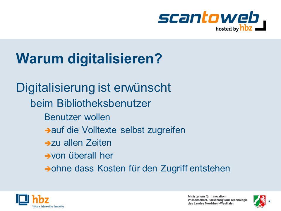 7 Warum digitalisieren.