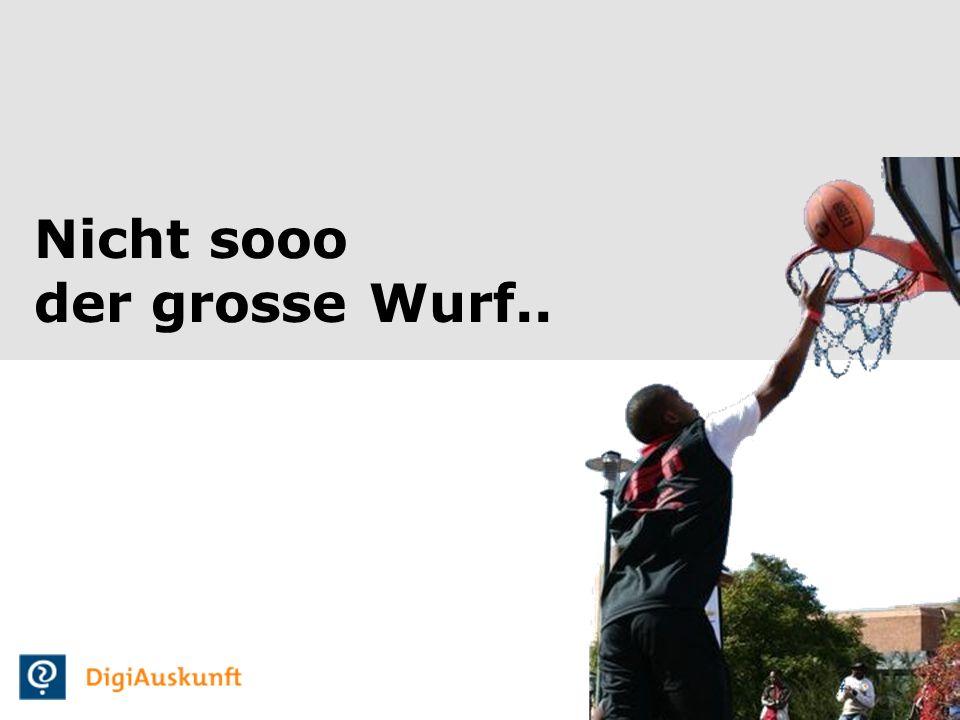 4 Nicht sooo der grosse Wurf..