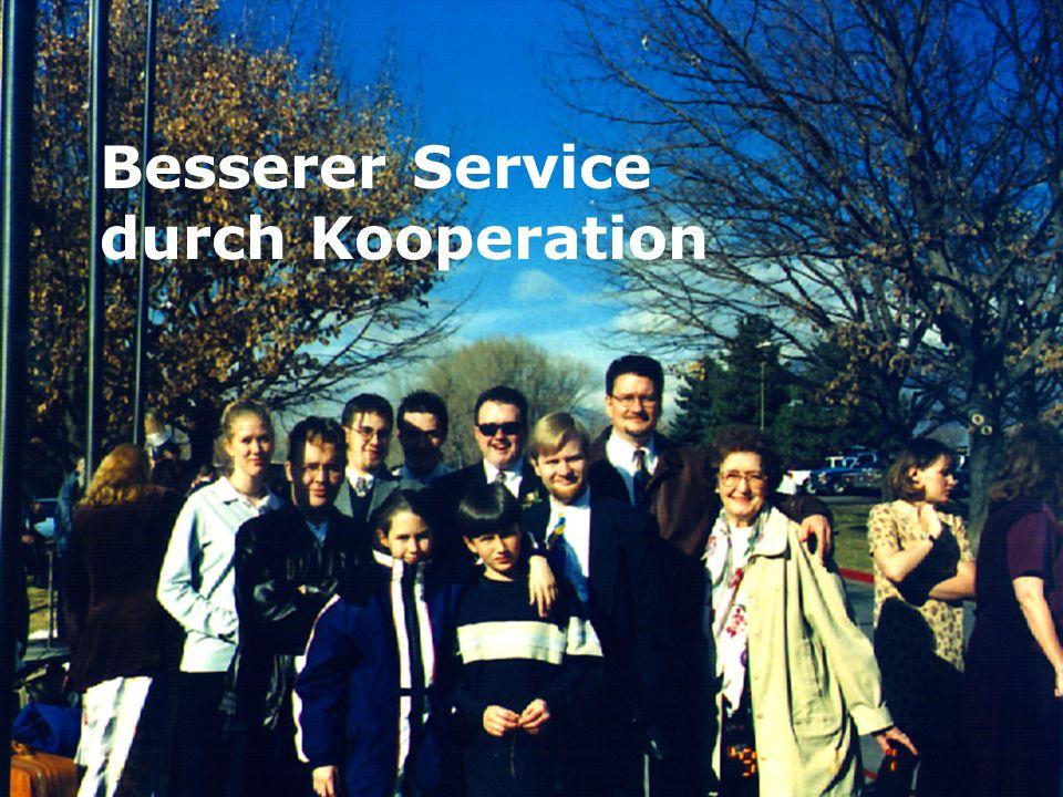 5 Besserer Service durch Kooperation