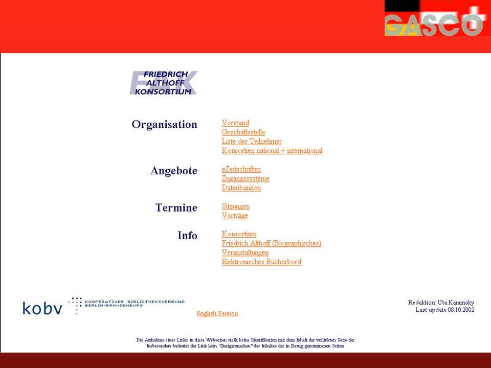 www.althoff-konsortium.de Friedrich-Althoff-Konsortium