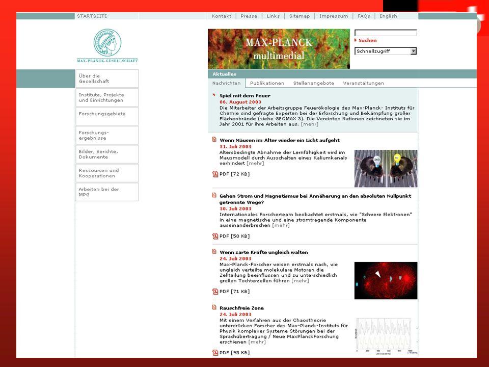 www.mpg.de Max-Planck-Gesellschaft