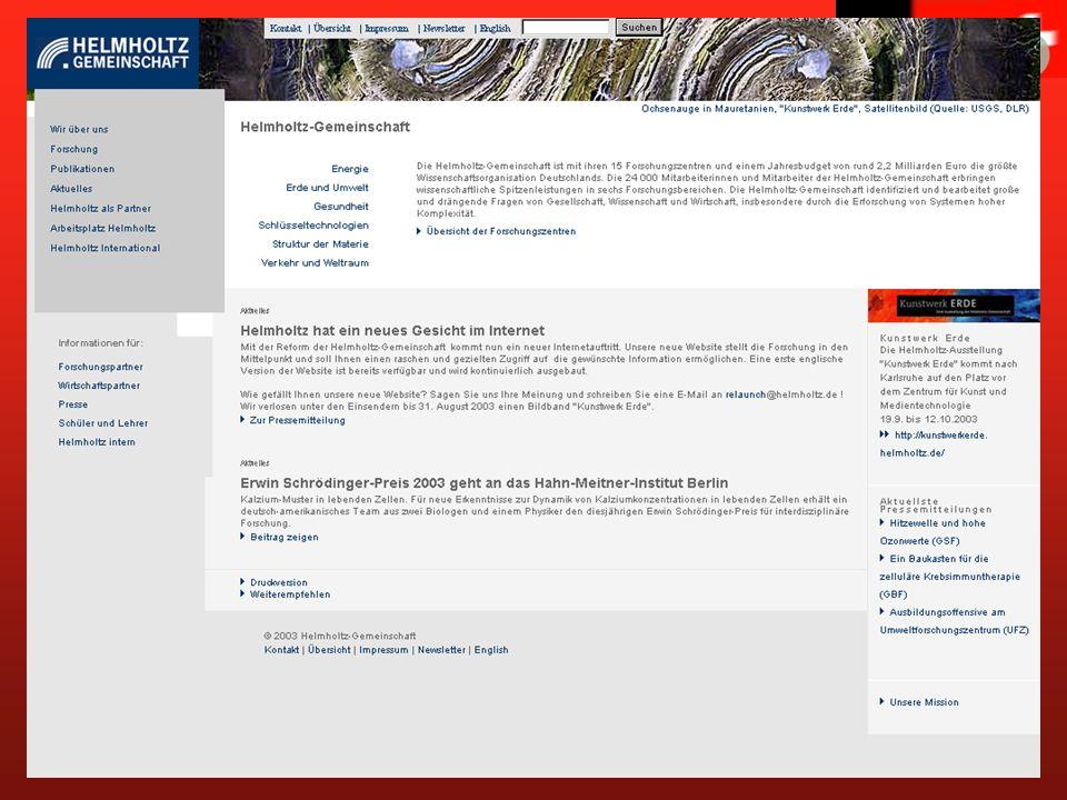 www.helmholtz.de Helmholtz-Gemeinschaft