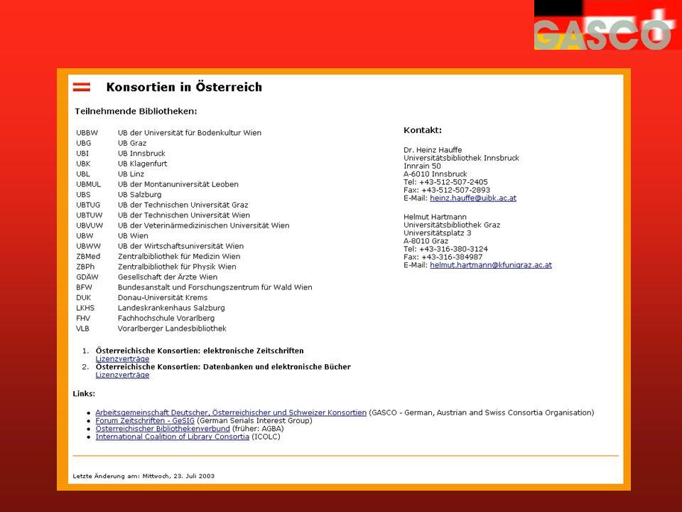 http://voeb.uibk.ac.at/konsortien/ Konsortien in Österreich