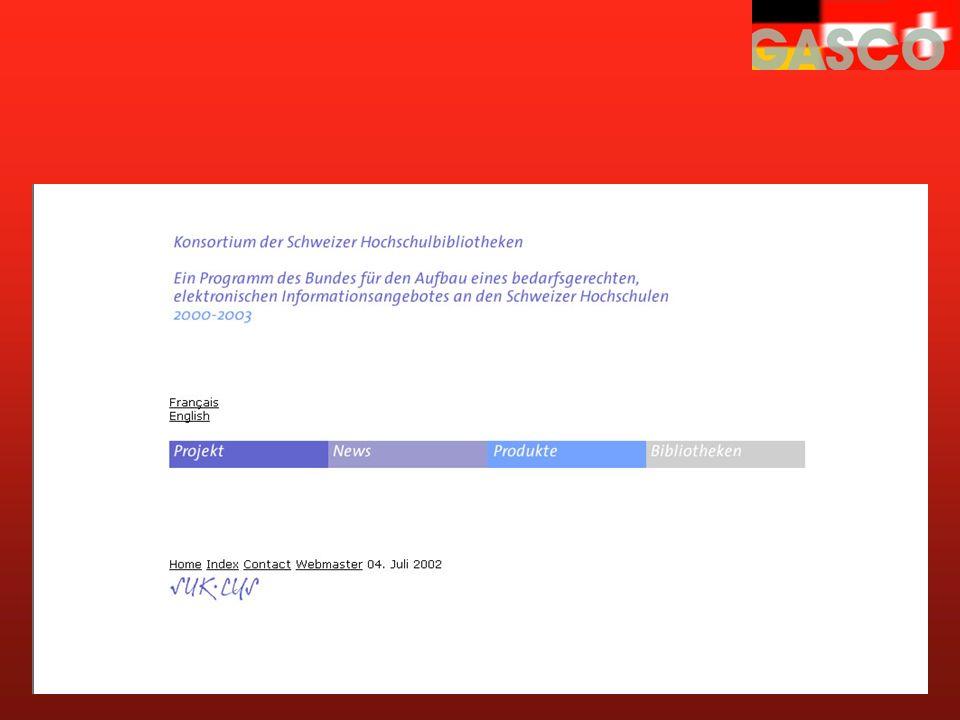 lib.consortium.ch Konsortium der Schweizer Hochschulbibliotheken