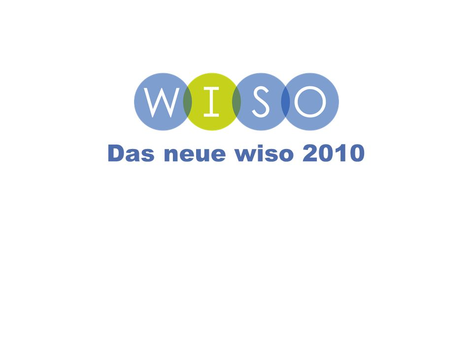 11 Das neue wiso 2010
