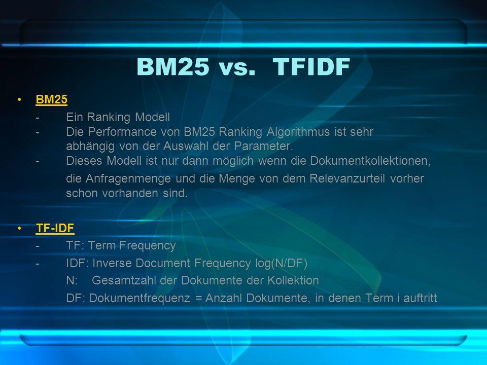 BM25 vs.