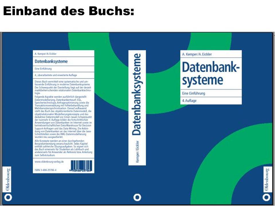 4 Literatur A.Kemper, A. Eickler Datenbanksysteme – Eine Einführung, 4.