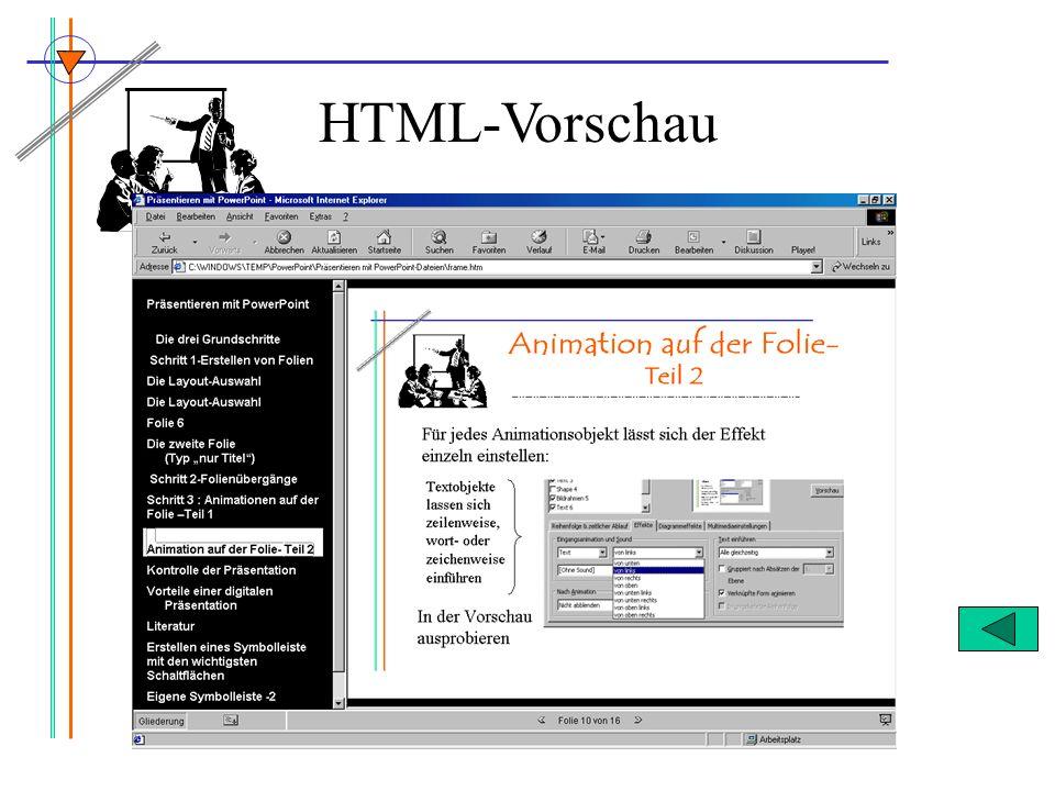 HTML-Vorschau