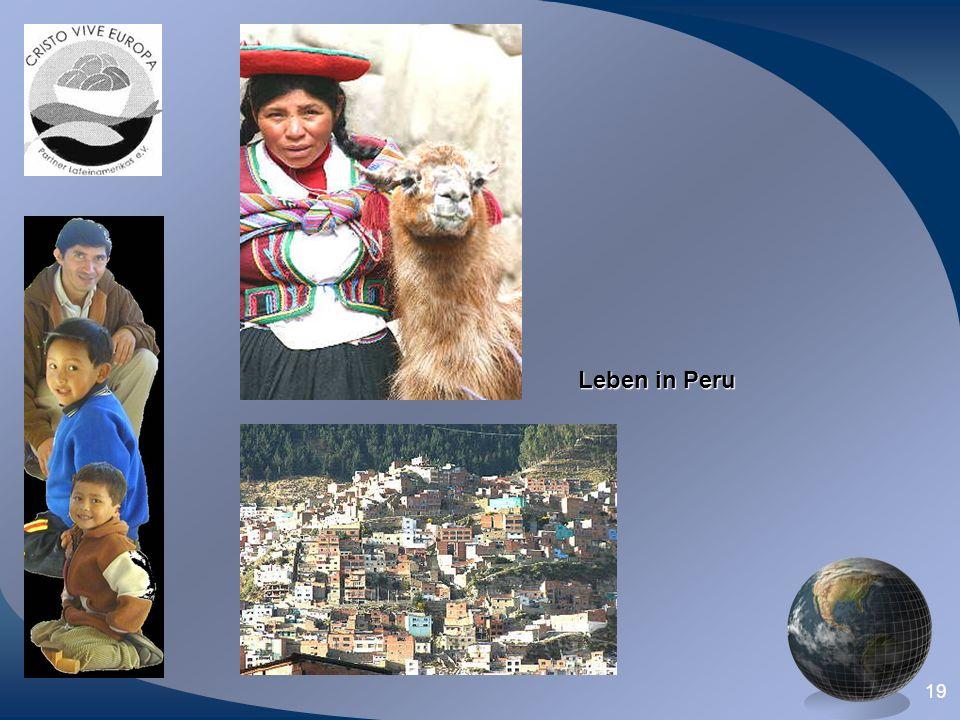 19 Leben in Peru
