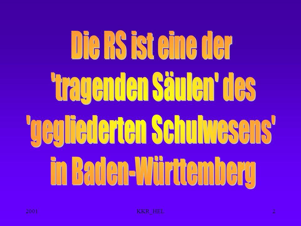 2001KKR_HEL22 Berufliche Gymnasien * ( 3 Jahre ) für HSR EG TG WG AG * Franz.