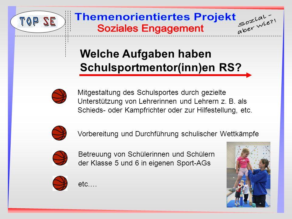 Einsatzmöglichkeiten in Schule und Verein.
