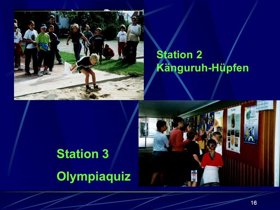 15 Station 1 Ehrenrunde