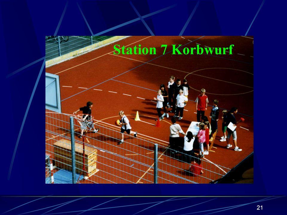 20 Station 6 Schatz versenken