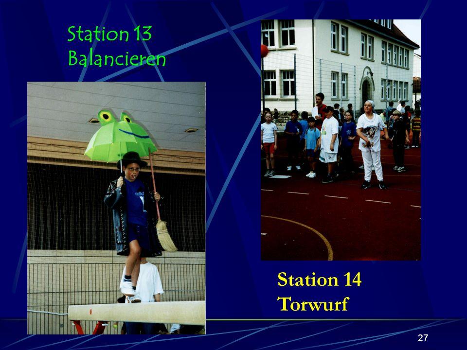 26 Station 12 Pendelstaffel
