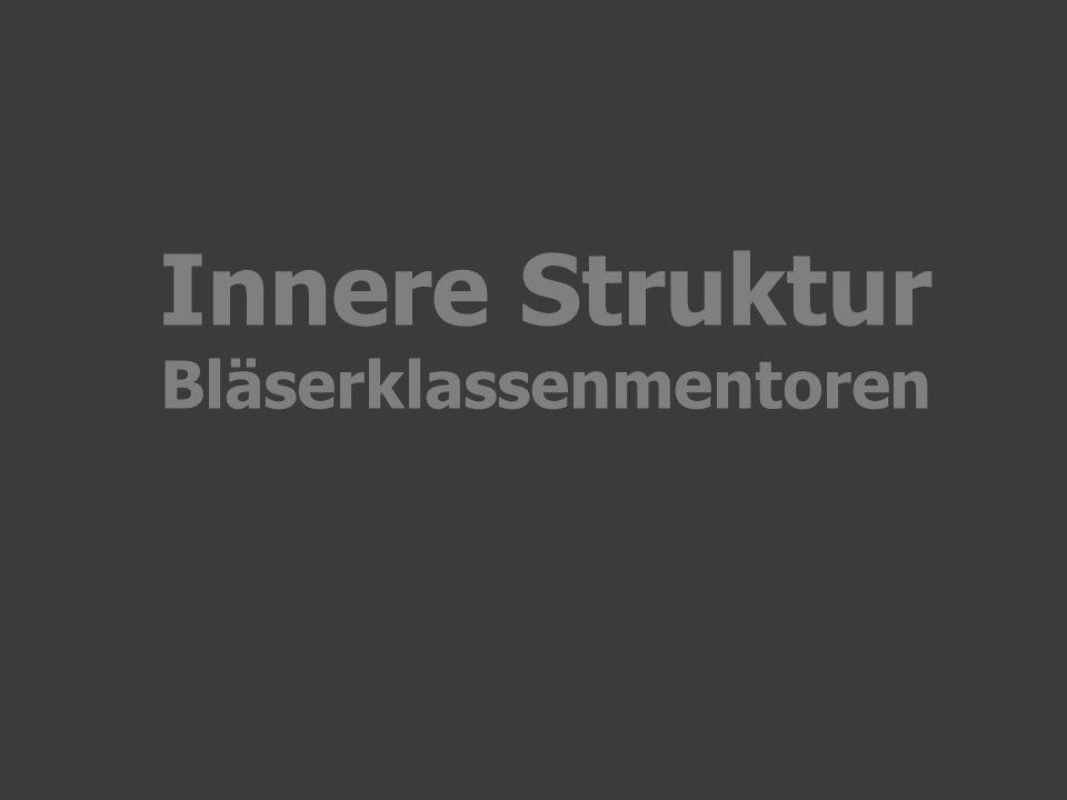 Innere Struktur Bläserklassenmentoren