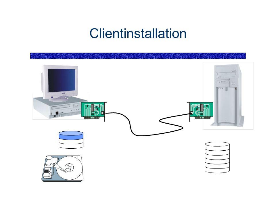 Clientinstallation