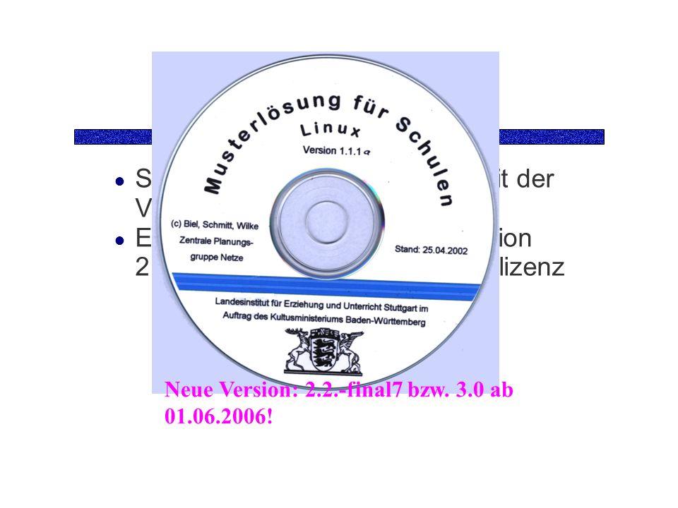 Die CD Sie benötigen die Grund-CD mit der Version 1.1.1 Eine Update-Datei auf die Version 2.0 mit integrierter Rembo-Testlizenz Neue Version: 2.2.-final7 bzw.