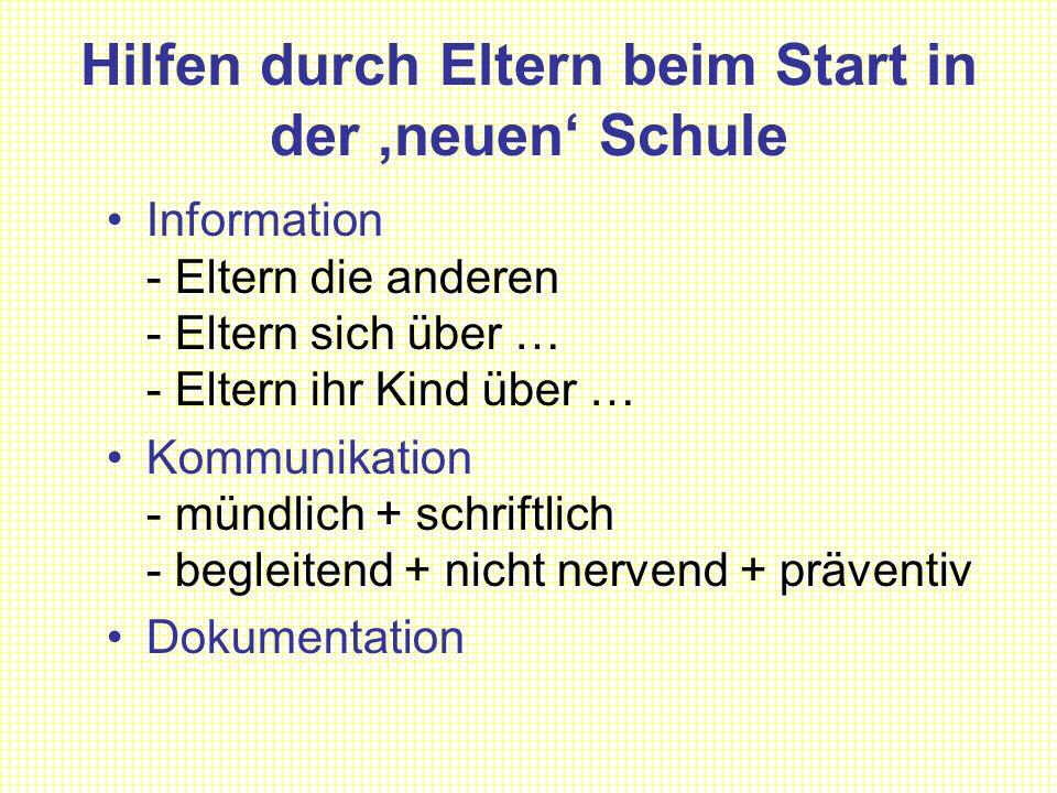 Information Schulleitung Klasslehrer Klassenkonferenz LehrerkonferenzSchriftform.