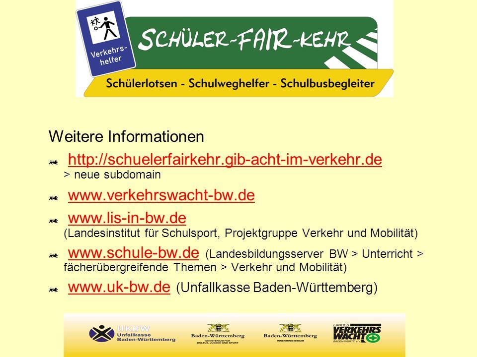 Weitere Informationen http://schuelerfairkehr.gib-acht-im-verkehr.de > neue subdomainhttp://schuelerfairkehr.gib-acht-im-verkehr.de www.verkehrswacht-