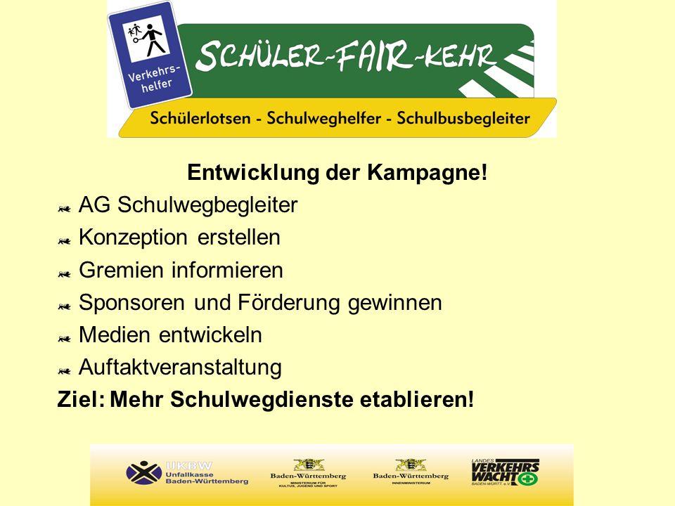 Bereits erfolgreiche Projekte FFiBB (Faires Fahren in Bus und Bahn, Lörrach, Schulbusbegleitung) Schülerlotsen Ludwigsburg Schulen in Pfullingen, Holzgerlingen, Herrenberg,...