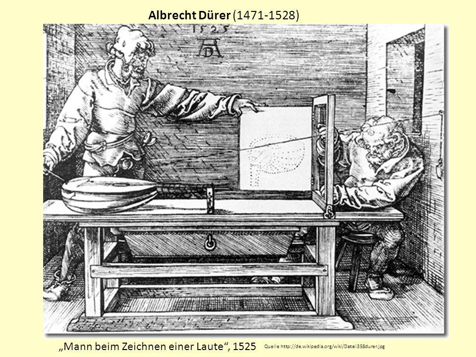 Albrecht Dürer (1471-1528) Melencolia I, Kupferstich (1514) Quelle http://de.wikipedia.org/wiki/Datei:D%C3%BCrer_Melancholia_I.jpg