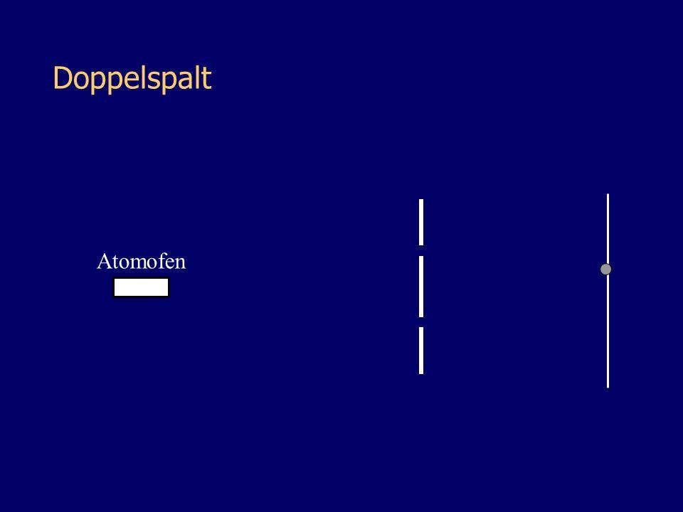 Atomofen Doppelspalt