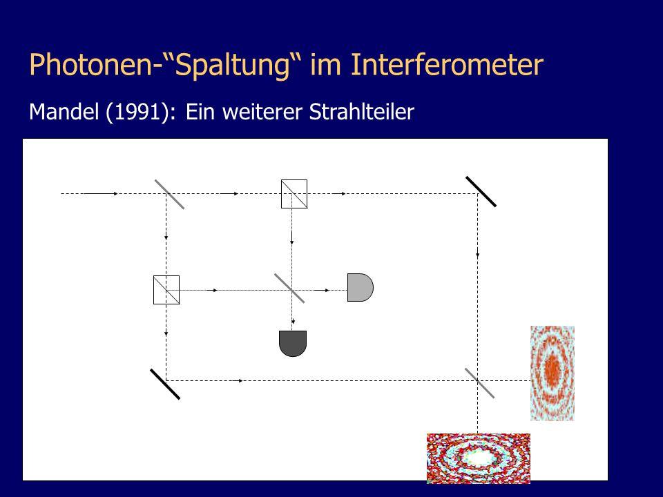 D1D1 D2D2 Mandel (1991): Ein weiterer Strahlteiler