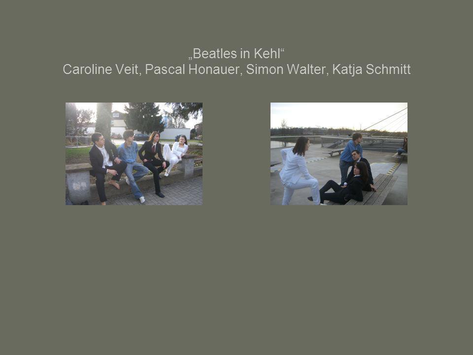 Beatles in Kehl Caroline Veit, Pascal Honauer, Simon Walter, Katja Schmitt